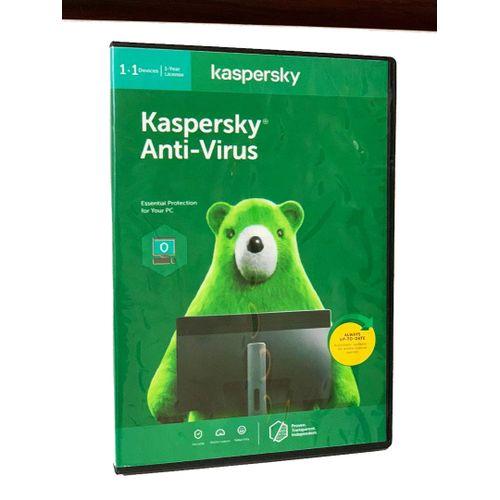 Kaspersky Anti-Virus 1+1 Devices - 1 Year License