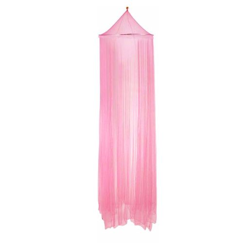 Outdoor Round Lace Insect Bed Canopy Netting Curtain Hung Dome Mosquito Nets Light Pink