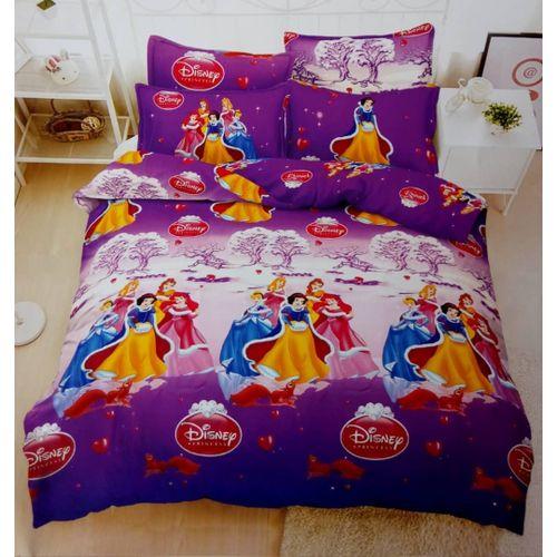 Snowwhite Cartoon Bedsheets -2 Pillow Cases