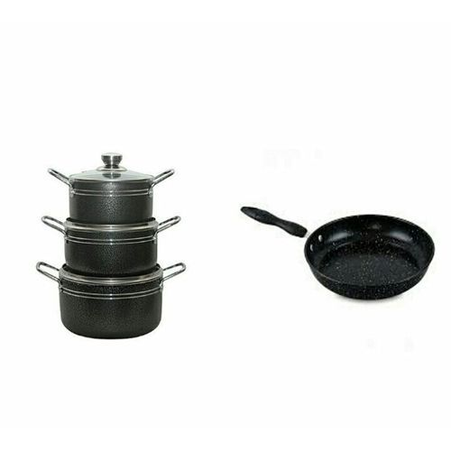 Master Chef Non Stick Pots And Frying Pan