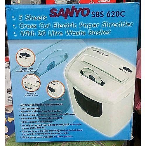 Sanyo SBS 620C Paper & CD Shredder