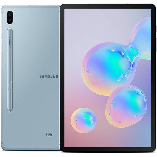 """Galaxy Tab S6, 10.5"""" (6GB RAM, 128GB ROM) 13MP + 5MP + 8MP, LTE - Cloud Blue"""