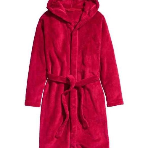 Beautiful 5-14 Years Hooded Luxury Plush Fleece Robe
