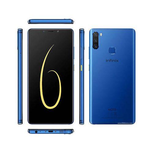 Note 6 X610b - Dual - 64gb Rom - 4gb Ram - 4g - 6.01 Fhd - 16mp - Fingerprint - Blue