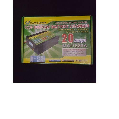 20A 12V Digital Battery Charger For Inverter /Car Battery