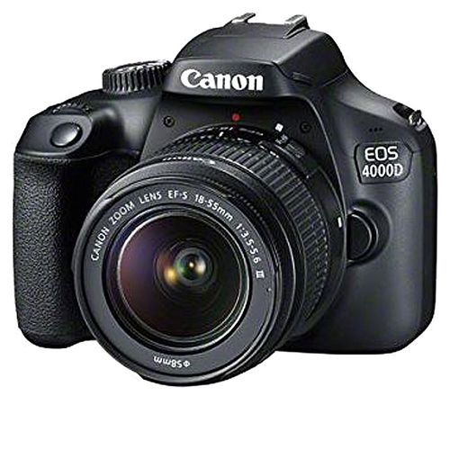 EOS 4000D DSLR With 18-55mm III Lens- Black with 32GB & Bag Free
