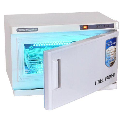 16L UV Heated Towel Warmer Cabinet Spa Sterilizer