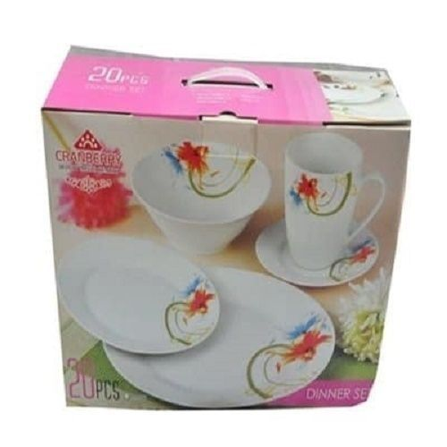 Cranberry Dinner Set - 20 Pieces
