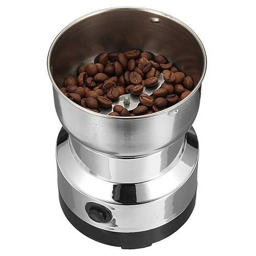 Electric Stainless Steel Home Grinding Milling Machine Coffee Bean Grinder NIMA