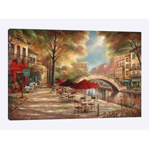 Riverwalk Canvas Print
