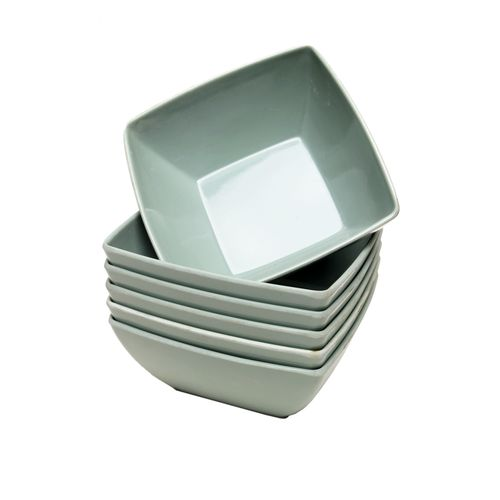 Ubreakable Ceramic Plate -6 Pieces