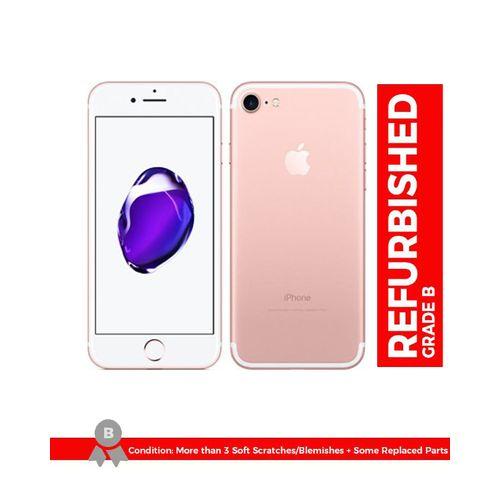 IPhone 7 4.7 Inch 2GB + 32GB 12MP + 7MP Finger Sensor 4G LTE Smartphone (Free Gift) – Rose Gold