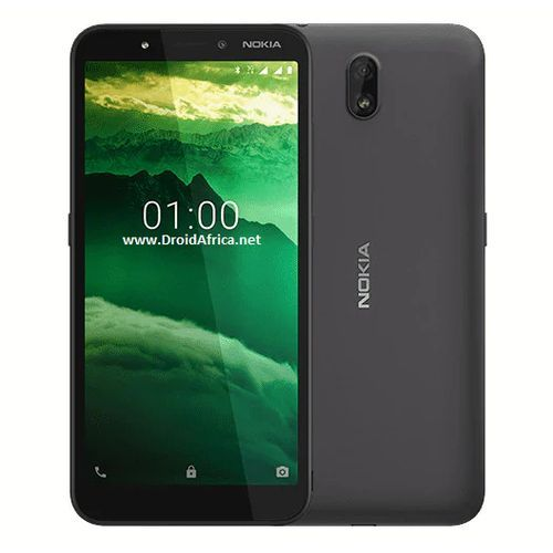 """C1 5.45"""" 1GB 16GB Android 9.0 Pie 5+5 Mp 2500 MAh - Charcoal"""