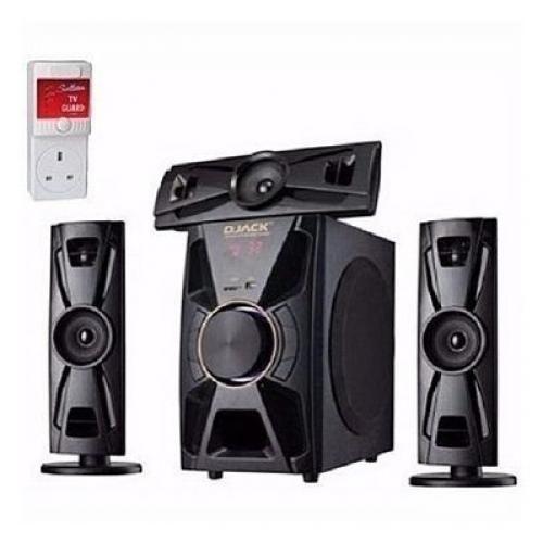 Djack Powerful Bluetooth Home Theatre Dj-403 + FREE Power Surge