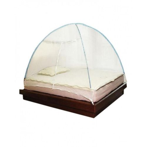 Classic Foldable Tent Mosquito Net -7by 7ft - White