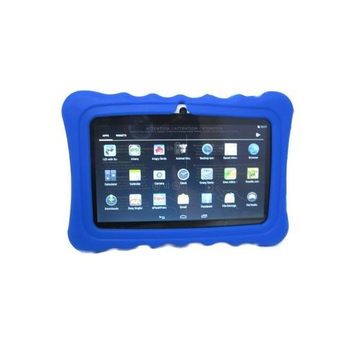 "A32 7"" KIDS LEARNING TABLET 7 INCH, ANDROID 6.1, 8GB, WI-FI, QUAD CORE, DUAL CAMERA + Blue Pouch"