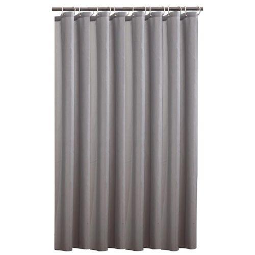 Blackout Durable Waterproof Mildew-proof Lightproof Bathroom Curtain With Hooks Blackout Curtains