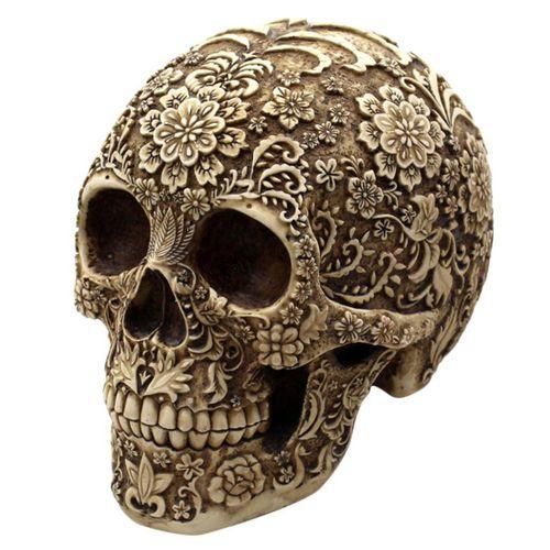 Day Of The Dead Ornament Skull Vintage Home Decor Office Desk Ornament Gift