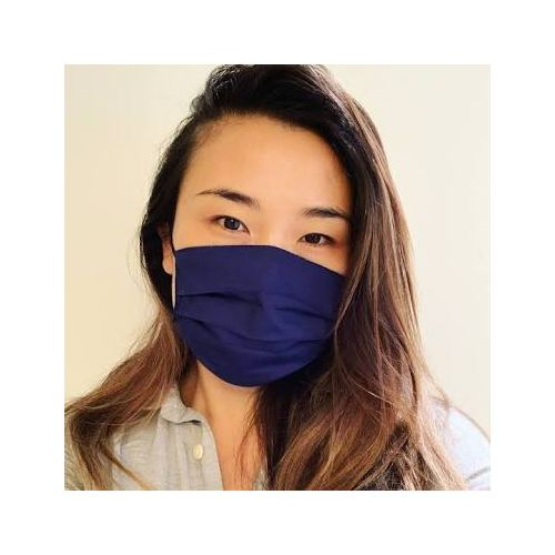 Comfortable ,Washable,Reusable And Breathable Unisex Nose Masks-NAVY BLUE