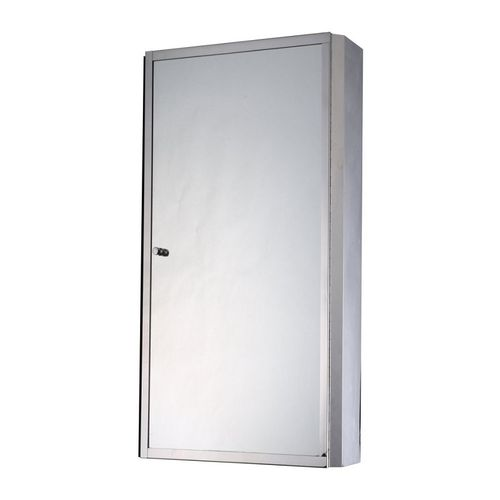One Door Stainless Cabinet Mirror