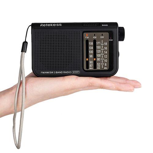 Retekess V-117 FM AM SW Radio Shortwave Transistor Radio