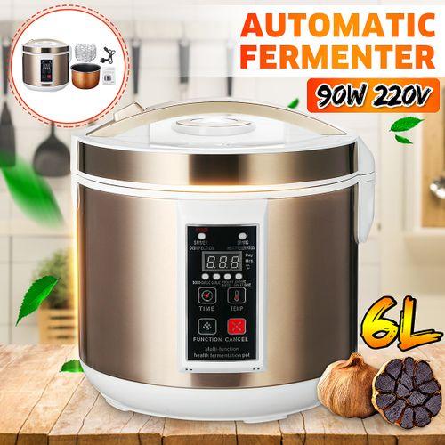 6L 90W Automatic Black Garlic Fermenter Ferment Garlic Yogurt Natto Wine Maker AU Plug