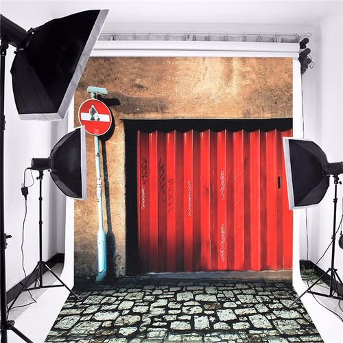 5x7FT Bus Stop Photography Backdrop Studio Props Wedding Photo Background Cloth