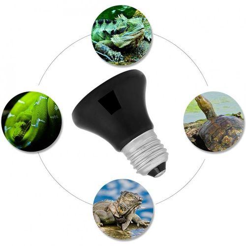 50-100W Infrared Ceramic Emitter Pet Heater Lamp Reptile Light Bulb 100W