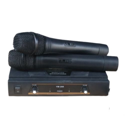 Yamaha VHF Wireless Microphone System With 2 Mic - YM-288