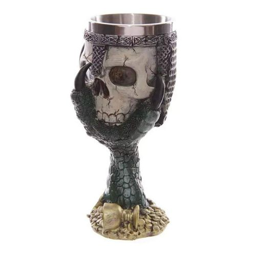 Stainless Steel Wolf Goblet EZESO Resin 3D Coffee Cup Stainless Steel Tea