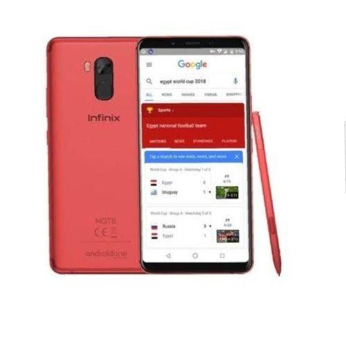 "Note 5 X605- 6.0"" Android 8.1 Oreo (32GB ROM + 4GB RAM),16MP 4000MAH - Red"