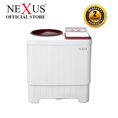 7kg Semi Automatic Twin Tub Washing Machine (Red CV)