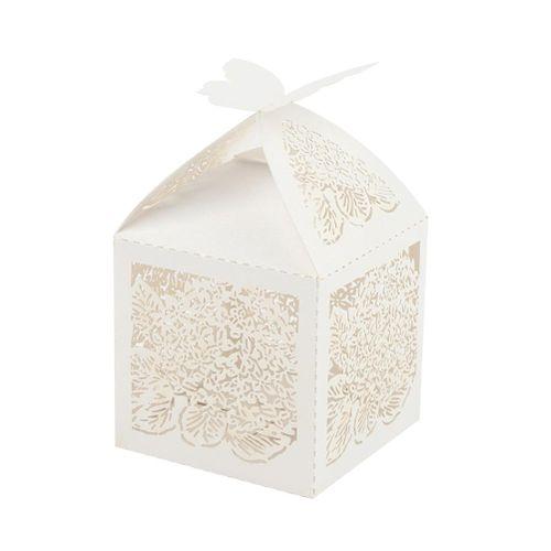 10pcs/set Wedding Favor Candy Box Bulk Decorative Candy Chocolate Box