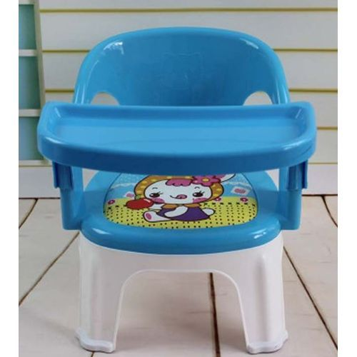 Baby Chair With Attached Table Top-blue