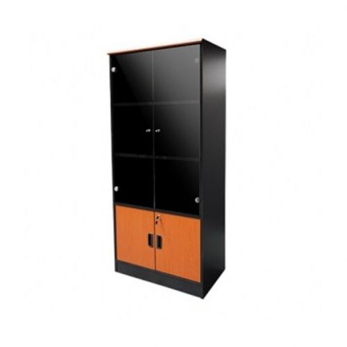 Glass Bookshelf Cabinet - Full Height (Delivery In Lagos And Environs, Ibadan And Port-Harcourt Only)