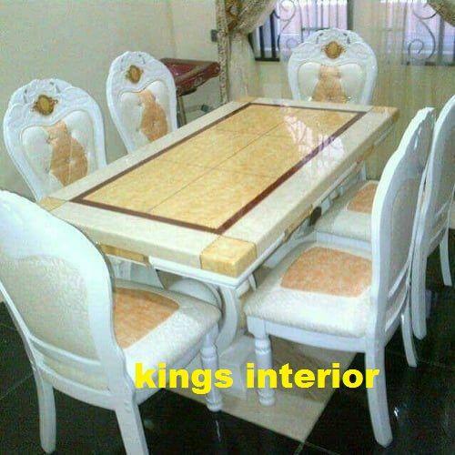 Exquisite Marble Dining Set