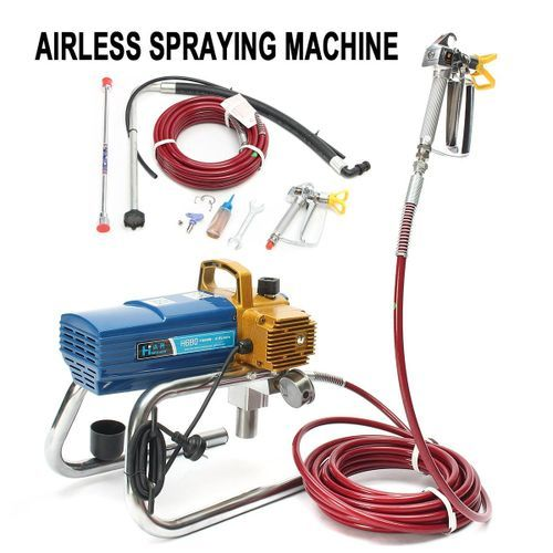 H680 High Pressure Airless Wall Paint Spray Professional Sprayer Machine