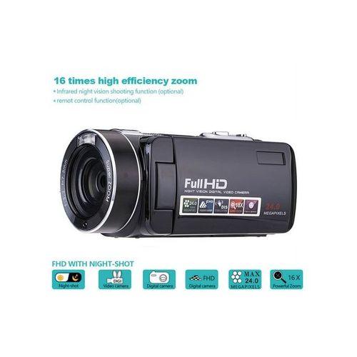 "HD 1080P 24MP 18X Zoom 3.0"" LCD Digital Video Recorder DV Camera Camcorder DVR"