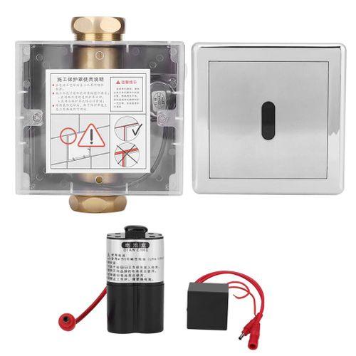 Urine Infrared Sensor Urinal Automatic Stool Flush Valve Copper Valve Hotel Bathroom