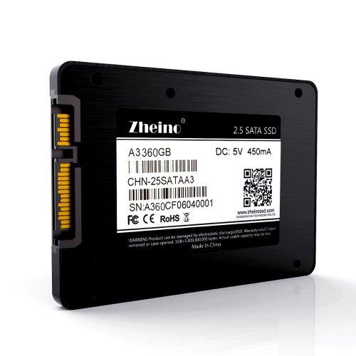 Zheino P1 USB 3.0 2.5 Inch 360GB SSD Portable External Hard Drive SATA3 480GB SSD Mobile Hard Disk Drive For Laptop Desktop PC