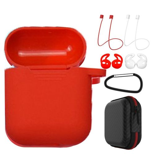 OR 7 In 1 Strap Holder Silicone Case For Apple Airpods Earpo