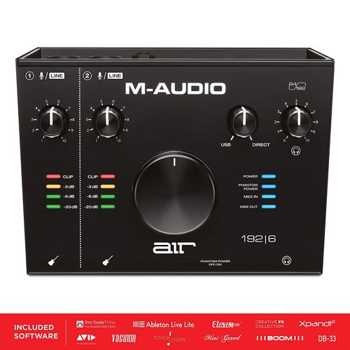 AIR 192-6 - 2-In 2-Out USB Audio / MIDI Interface