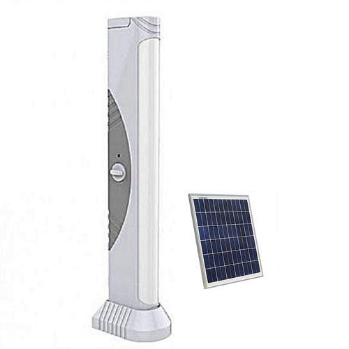 Rechargeable Flourescent Lamp - {Bigest} + Solar Panel
