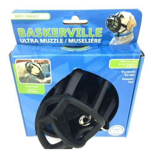 Company Of Animals Baskerville Ultra Dog Muzzle Size 5