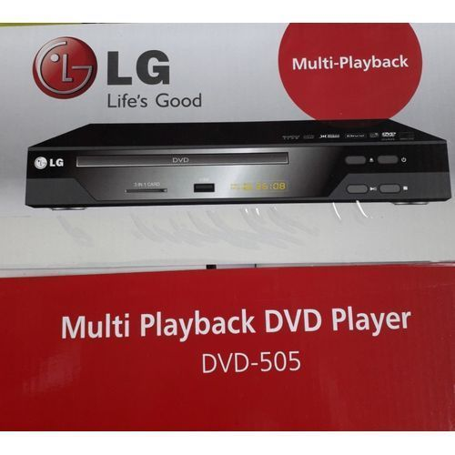 Powerful DVD Player Dv 505 O With Last Memory..Official