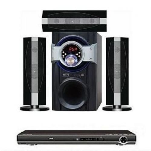 D-Marc Powerful Bluetooth Woofer And Speakers DMI-D2 + Attached DVD PLAYER