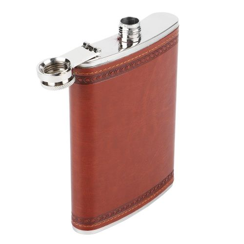 5 Ounces Stainless Steel Stees Pocket Hip Flask