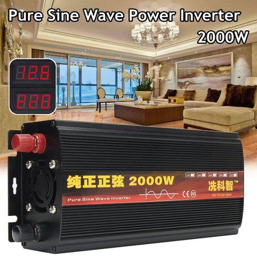 12V 2000W Pure Sine Wave Power Inverter