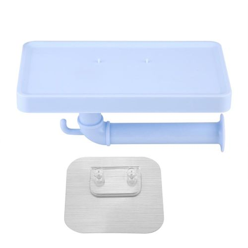 Bathroom Wall-Mount Paper Towel Holder Kitchen Sauce Bottle Storage Rack Paper Towel Holder Preservative Paper Dispenser