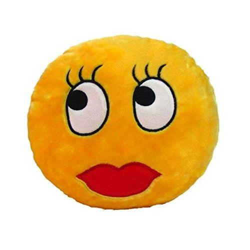 Plush Smiley Cushion / Pillow - Lashes